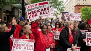 Medicare for All supporters