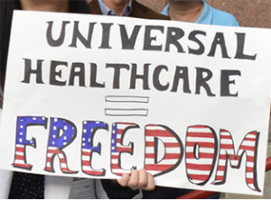 Universal Healthcare sign